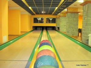 Bowling hotelu Ráztoka