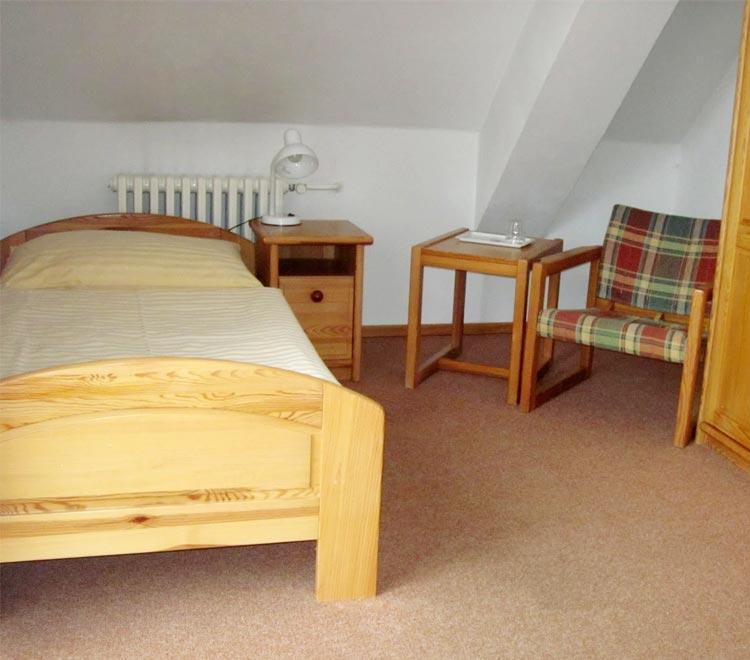 Hotel Ráztoka - Jednolůžkový pokoj Standard