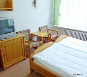 Pokoje Standard - hotel Ráztoka
