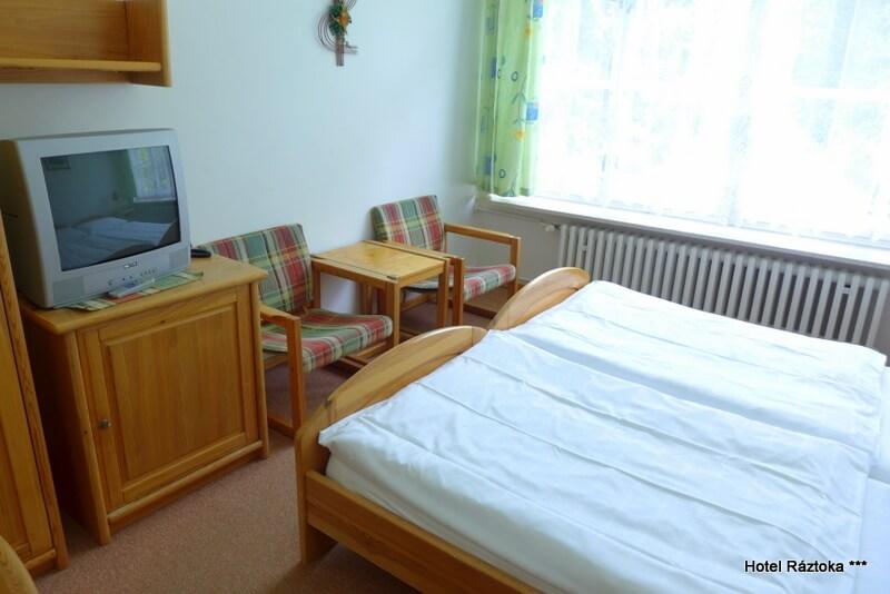 Dvoulůžkový pokoj Standard - hotel Ráztoka