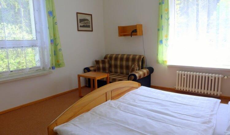Třílůžkový pokoj Standard - hotel Ráztoka