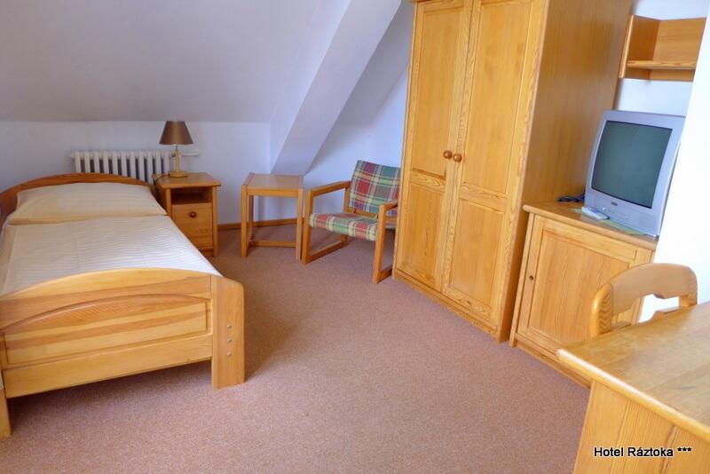 Jednolůžkový pokoj standard - hotel Ráztoka