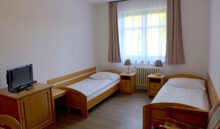 Dvoulůžkový pokoj DeLuxe - hotel Ráztoka
