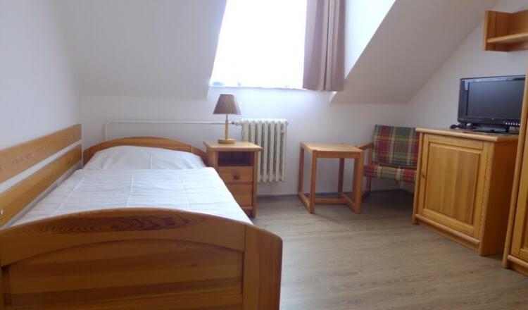 Jednolůžkový pokoj Premium - hotel Ráztoka