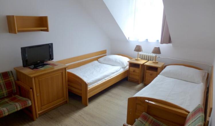 Čtyřlůžkový pokoj Premium - hotel Ráztoka
