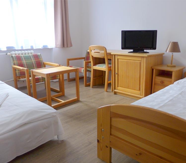 Třílůžkový pokoj Premium - hotel Ráztoka