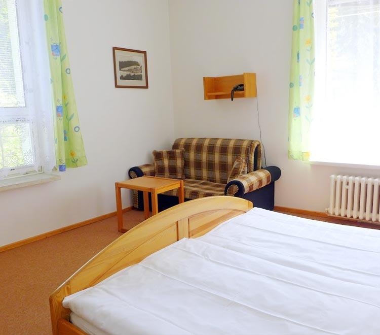 Třílužkový pokoj Standard - hotel Ráztoka